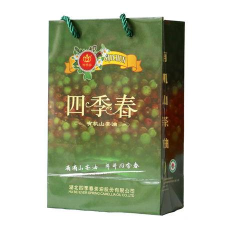 四季春 天然野生山茶油1L装