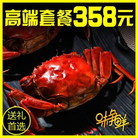 盘锦河蟹大闸蟹鲜活现货母2.5-3.0公3.5-3.0共10只 对蟹礼盒 其他