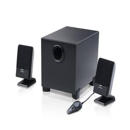 Edifier/漫步者 R101T06  2.1声道 多媒体有源电脑音箱 线控低音炮