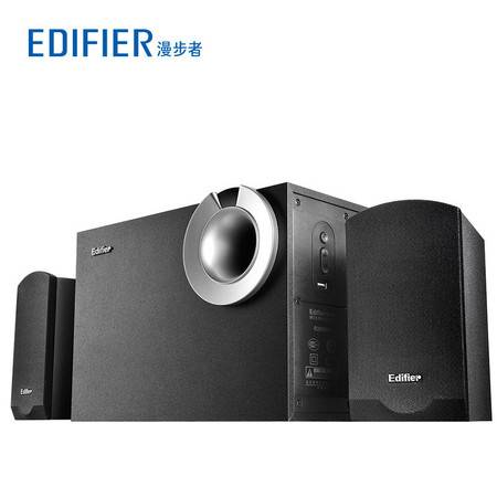 Edifier/漫步者 R206P多媒体有源2.1电脑音箱U盘木质低音炮音响