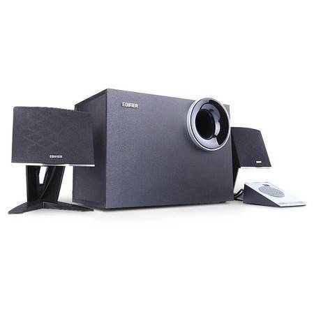 Edifier/漫步者 R208PF 电脑音箱USB/SD/F收音机2.1多媒体低音炮
