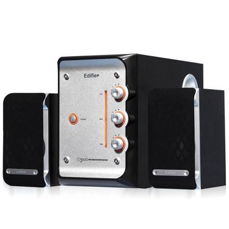 Edifier/漫步者 E3100多媒体电脑笔记本音箱2.1木质低音炮音响