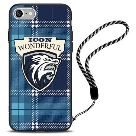 I控  iphone7手机壳苹果七plus硅胶保护套5.5创意硬壳新款男女潮昕尚