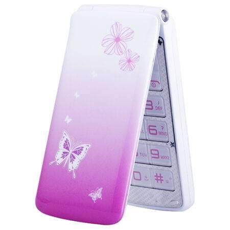 纽曼(Newman) V8翻盖老人手机大字大声大屏呼吸灯老人机男女手机时尚彩色女性手机