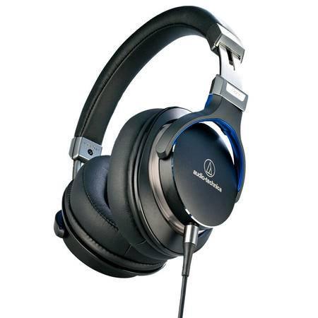 铁三角/Audio-technica  ATH-MSR7 便携头戴式HIFI耳机 高解析音质