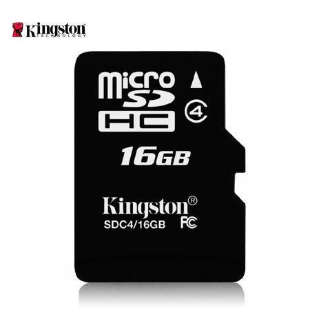 金士顿16g内存卡储存sd卡高速tf卡Class10 16g手机内存卡