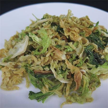 老俵情 绿乐脱水蔬菜卷心菜干