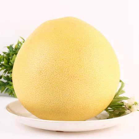 热卖罗江鄢家柚子白肉蜜柚 2个约5斤白肉蜜柚子非红心新鲜水果