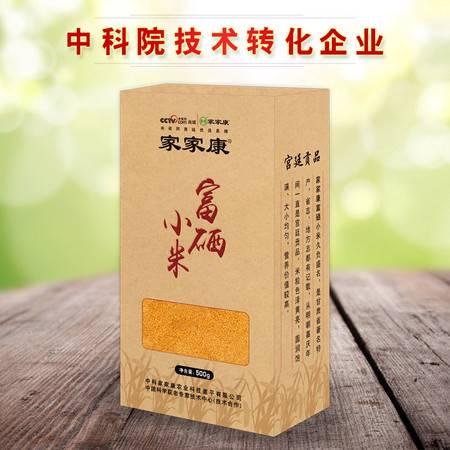 家家康 富硒黄小米 庆阳杂粮小米(真空包装) 500g