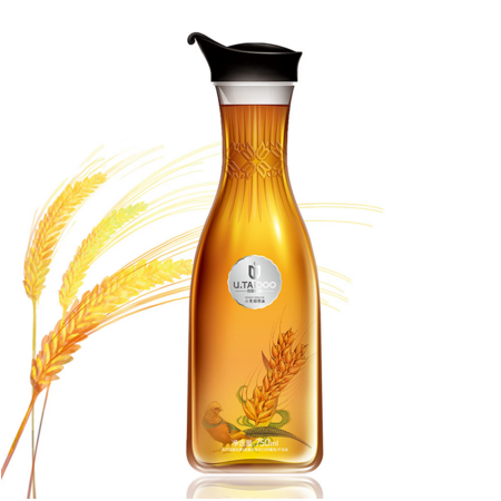 帝麦小麦胚芽油非转基因高端食用油有机植物油富含维生素E 750ml