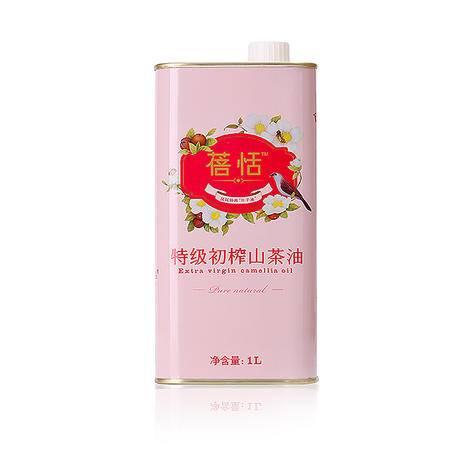 【衡阳馆】大三湘蓓恬特级初榨山茶油:1L