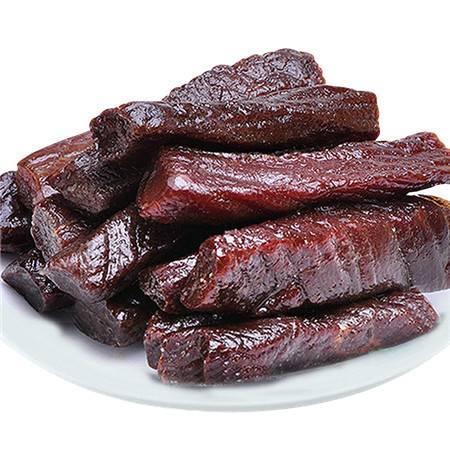 【忠豪】牛肉干内蒙古风干牛肉干手撕零食小吃500克