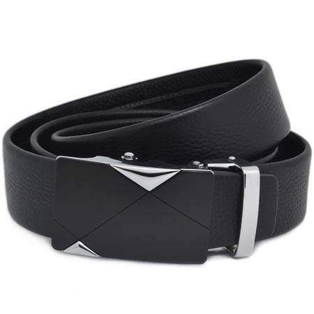 曼莱森/MANRISE男士头层牛皮腰带真皮皮带裤带自动扣式QT170