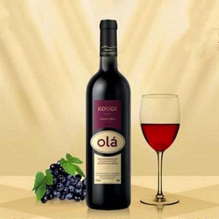 欧啦法国红酒原瓶进口红酒 2014干红葡萄酒庄园酒