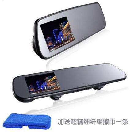 E路航 e路航 T86单 行车记录仪 1200万像素 4.3英寸超薄显示屏 超强夜视单镜头