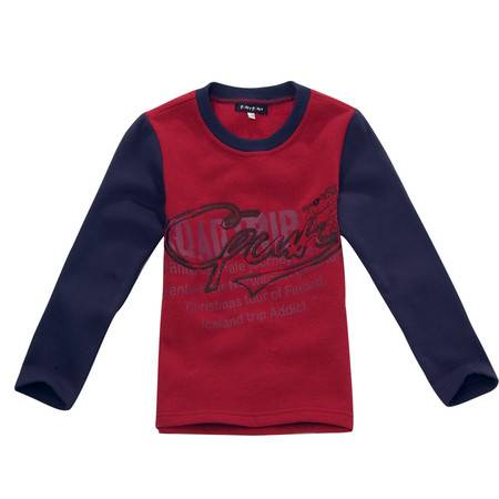 PUFFY PUPPY 帕菲帕贝全棉长袖印花T恤(加绒) PDQZ01P07