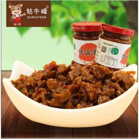 石台特产 香菇酱 调味酱 146G 开胃下饭酱菜