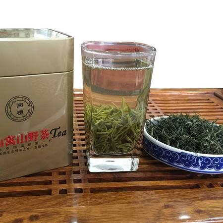 石台珂田仙寓山茶 送礼野茶正宗仙寓山野茶 罐装一级野茶125g
