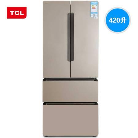 【四川惠民】TCL BCD-420WBEF1 智能风冷无霜多门家用节能大冰箱