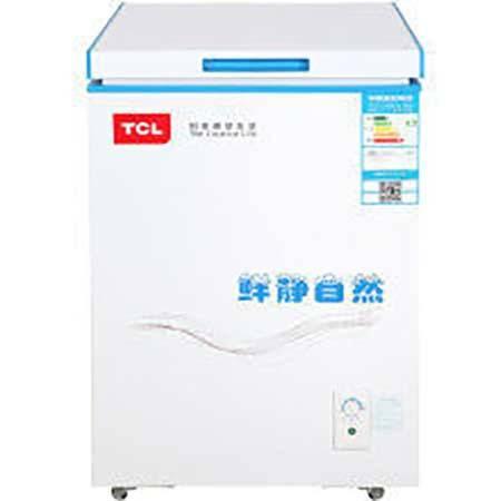 【四川惠民】TCL BD/BC-100AQD 冷柜冰柜 迷你小型冷冻冷藏家用单温柜