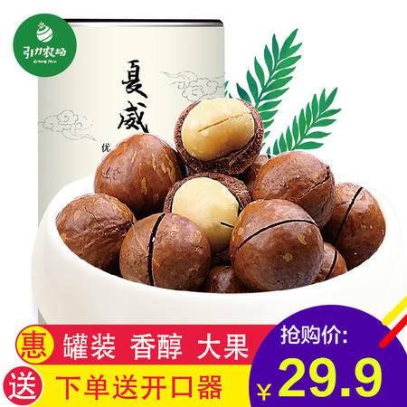 【引力农场】夏威夷果288g奶油味罐装坚果零食干果新货送开果器