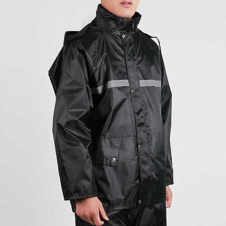 高速路政交通环卫保安反光警示雨衣雨裤电动车套装