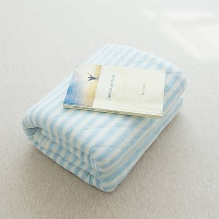 采馨家纺 天竺棉空调被夏凉被全棉 纯棉夏被儿童针织棉单双人被芯