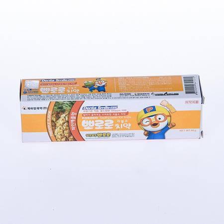 韩国宝露露儿童牙膏 菠萝味