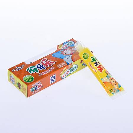 伢牙乐儿童营养牙膏 橙子香型