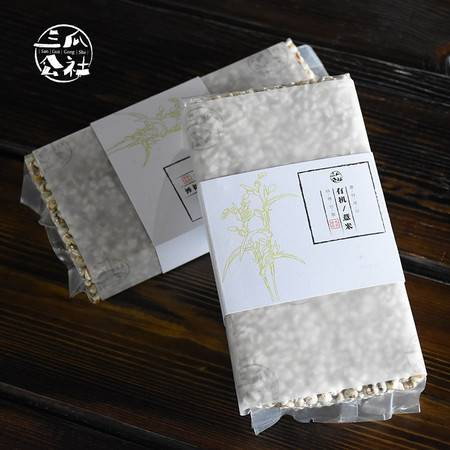 三瓜公社 薏米 无染色薏米400g 五谷杂粮放心粗粮薏米