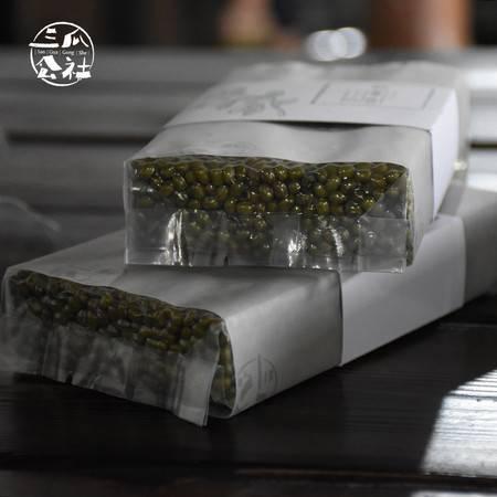 三瓜公社 绿豆 无染色绿豆400g 五谷杂粮放心粗粮绿豆