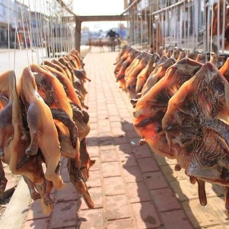 三瓜公社 农家自制风干板鸭咸鸭麻鸭腊鸭 腊味咸货安徽巢湖特产