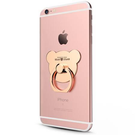 艾米娅 指环支架苹果7iphone6plus手机通用金属懒人指环扣平板支架