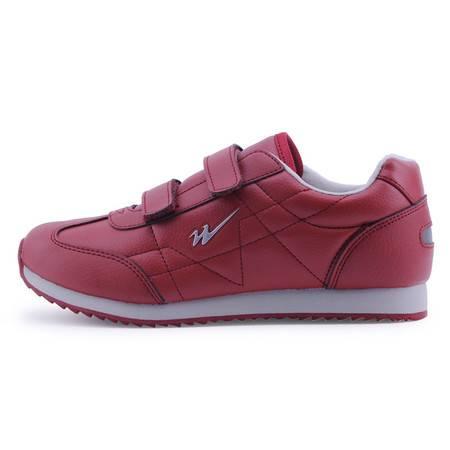 艾米娅 中老年健步鞋男运动鞋秋冬女八特鞋软底防滑老人鞋
