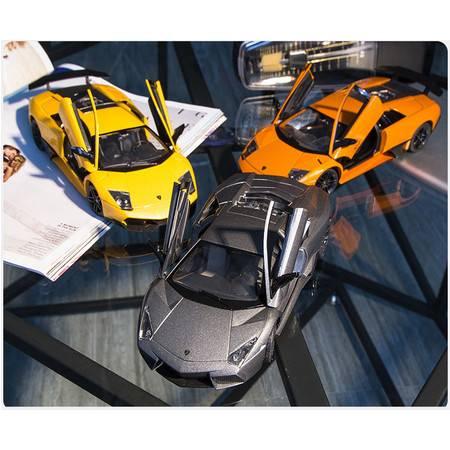 艾米娅 兰博基尼汽车模型合金车模原厂仿真跑车金属摆件儿童玩具收藏礼物