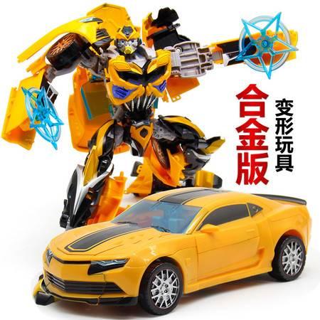 艾米娅 探长变形玩具金刚4专区领袖级合金版汽车机器人模型男孩玩具礼物