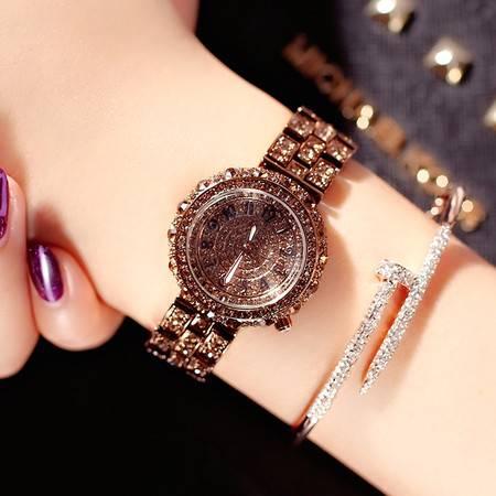 艾米娅 韩国诗威蒙Swaymond正品奢华名媛风镶钻女士钢带手表包邮防水腕表