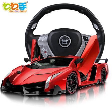 艾米娅 勾勾手 兰博基尼遥控车极速漂移玩具车儿童玩具充电赛车遥控汽车