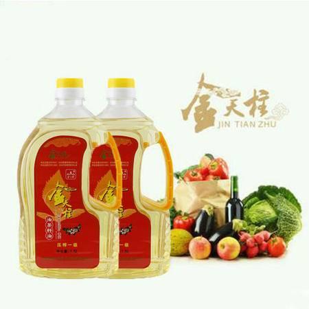 金天柱压榨油茶籽油1.5L