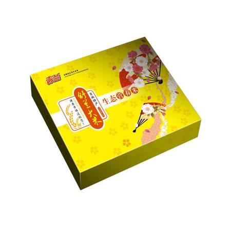 东北大米吉林舒兰大米吉兰生态营养米礼盒2016新米稻花香3kg包邮