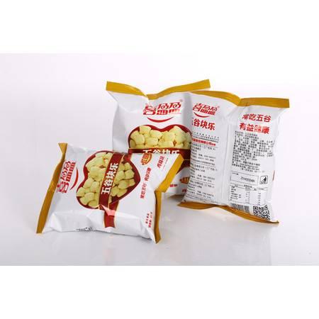 喜盈盈五谷快乐鸡味块 红豆味、麦香味、芝麻味  45g*60