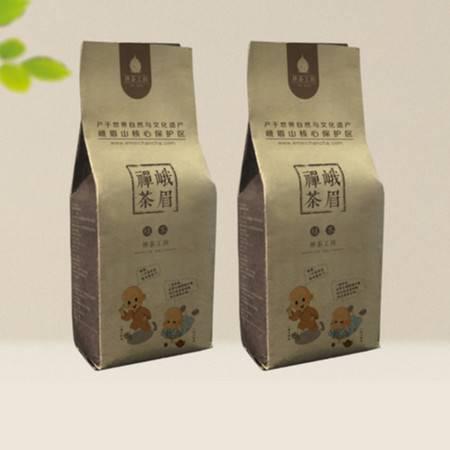 宝掌堂 峨眉山高山生态绿茶明前茶叶峨眉禅茶 铝箔袋100g