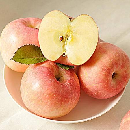 农家自产 陕西礼泉苹果红富士苹果水果18枚80送礼礼盒新鲜水果苹果