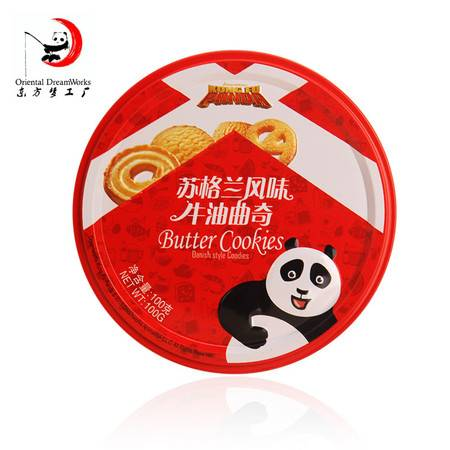苏格兰味牛油曲奇饼干 六一儿童礼物  东方梦工厂 100g