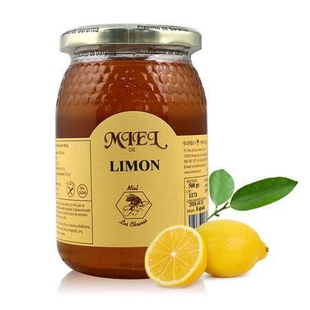 布罗家族 西班牙 原装进口野生蜂蜜农家柠檬蜂蜜500g*