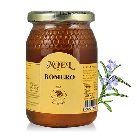 布罗家族 西班牙原装进口野生蜂蜜500g迷迭香蜜正品