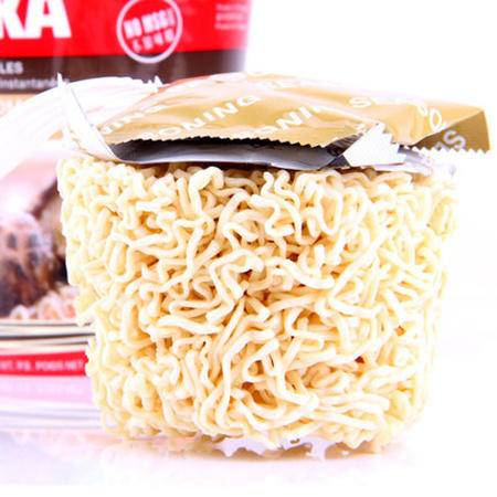 KOKA新加坡进口泡面方便面可口香菇素汤面快熟面 70gx1杯