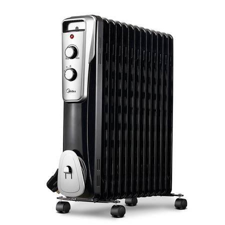 美的/MIDEA  取暖器家用电暖器电油汀电暖气片电热制暖NY2513-16J1W