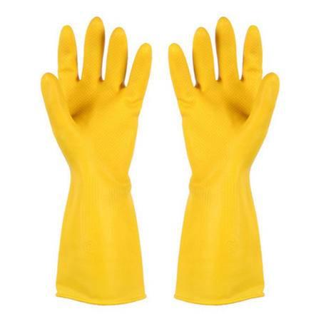 【大鱼】0543南洋牛津牛筋乳胶橡胶手套加厚洗碗家务防水护手手套