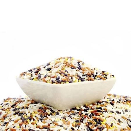 陕西汉中特产,有机五彩稻香贡米  黑、红、绿、紫、黄五色香香米 非转基因,无公害不抛光,富硒